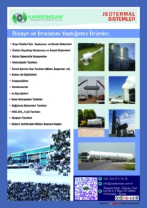 Karbonsan Geothermal Products cover