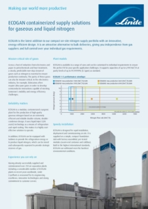 ECOGAN containerised solutions for gaseous and liquid nitrogen 68681326 cover