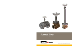 Cryogenic Valves cover