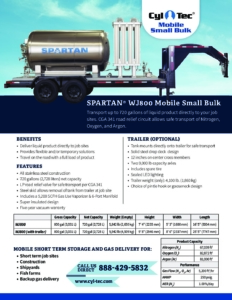 spec-sheet CylTec-Spartan-WJ800 cover