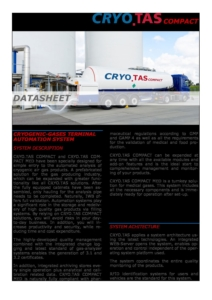 CRYO.TAS COMPACT Datasheet cover